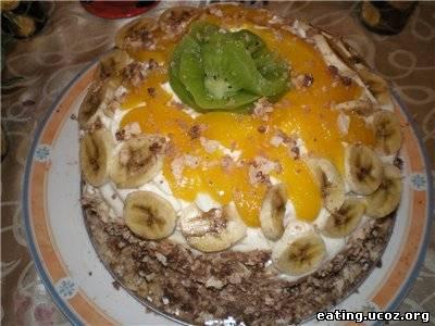 Торт очарование бисквит со взбитыми